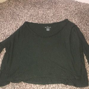 american eagle soft and sexy ribbed sweater